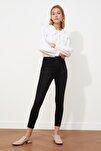 Siyah Yüksek Bel Skinny Jeans TWOSS20JE0302