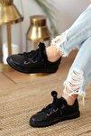 Kadın Kalın Bağcıklı Günlük Casual Ayakkabı