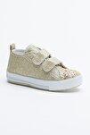 Altın Çocuk Spor Ayakkabı Cırtlı Tb997
