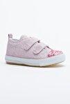 Pembe Çocuk Spor Ayakkabı Cırtlı Tb997