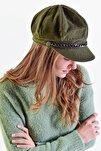 Kadın Haki Denizci Tipi Kaşe Şapka Şpk02 - E1 Adx-0000020361