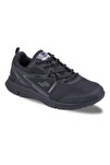 21163 Unisex Spor Ayakkabı - Siyah - 37
