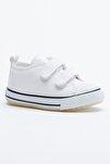 Beyaz Çocuk Spor Ayakkabı Cırtlı Tb997