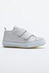 Buz Çocuk Spor Ayakkabı Cırtlı Tb997