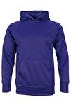 Unisex Spor Sweatshirt- Basic Fleece Hoodie
