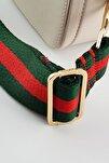 Yeşil Kırmızı Şerit Çanta & Cep Telefonu Askısı