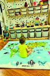 Dünya Haritası Oyun Matı Oyun Halısı