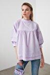 Lila Yaka Detaylı Bluz TWOSS20BZ0544