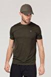 Yeşil Erkek Antrenman T-Shirt FS-1332