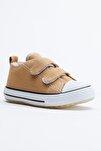 Camel Çocuk Spor Ayakkabı Cırtlı Tb997