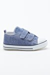 Kot Mavi Çocuk Spor Ayakkabı Cırtlı Tb997