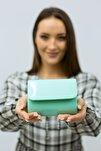 Kadın Mint Yeşil Minik Portföy Çanta