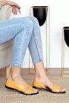 Kadın Hardal Sandalet