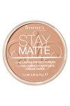 Pudra - Stay Matte Pressed Powder 010 Warm Honey 14 g 3607345211329
