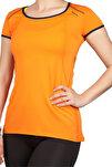 Kadın Turuncu Spor T-shirt - 142252