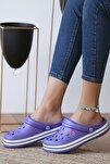 Unisex Mor Sandalet