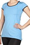 Kadın Mavi T-shirt - 142252