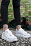 Kadın Beyaz Sneaker 0012201