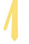 Erkek Pike Örgü Sarı Triko Kravat