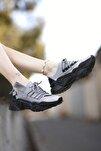 Kadın Gri Sneaker 0012104