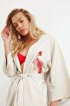 MercanBalık Nakışlı Kimono&Kaftan TBESS20KM0051