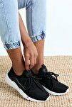 Siyah Beyaz Unisex Sneaker HRC-Q-0