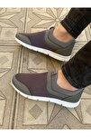 Füme Erkek Ipsiz Spor Yürüş Ayakkabısı