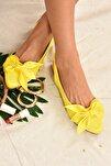 Kadın Sarı Kumaş Babet H726809004