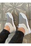 Buz Gri Erkek Ipsiz Spor Yürüş Ayakkabısı