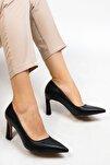 Akuna Kadın Stiletto Topuklu Ayakkabısiyah