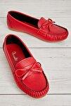 Kırmızı Kadın Loafer K01542005009