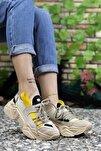 Kadın Kahverengi Sneaker 0012104