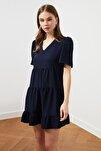 Lacivert Geniş Kesim Elbise TWOSS20EL0400