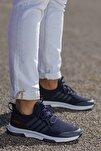 Unisex Lacivert Günlük Ortopedik Sneaker D053