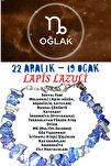 Burç Taşı Oğlak Burcu Lapis Lazuli Taşı Bileklik
