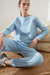 Mavi Selanik Basic Örme Sweatshirt TWOAW21SW0703