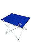 Omuz Askılı, Katlanabilir Kamp Ve Piknik Masası 73x55x48 Cm