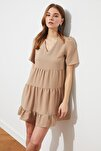 Taş Geniş Kesim Elbise TWOSS20EL0400