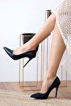 Lacivert Kadın Topuklu Ayakkabı A1770-17