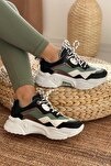 Kadın Siyah Beyaz Sneaker