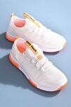 Unısex Beyaz Spor Ayakkabı Tbqnt