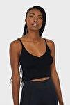 Kadın Siyah Triko Bralet 05061840