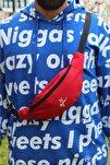 Unisex Kırmızı Freebag Bel Çantası 8094