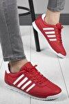 Erkek Kırmızı Halley Memory System Rahat Taban Günlük Spor Ayakkabı