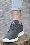 Füme Beyaz Unisex Sneaker 0012065