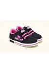 Kız Çocuk Siyah Aryın Ortopedic Sneakers Ayakkabı