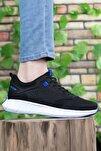 Siyah Sax Mavi Erkek Sneaker 0012075