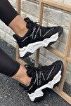 Kadın Bağcık Detaylı Sneaker