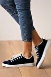 Kadın Lacivertsüet Ayakkabı