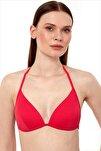 Kadın Kırmızı Push-Up Bikini Üstü 63518/D2027